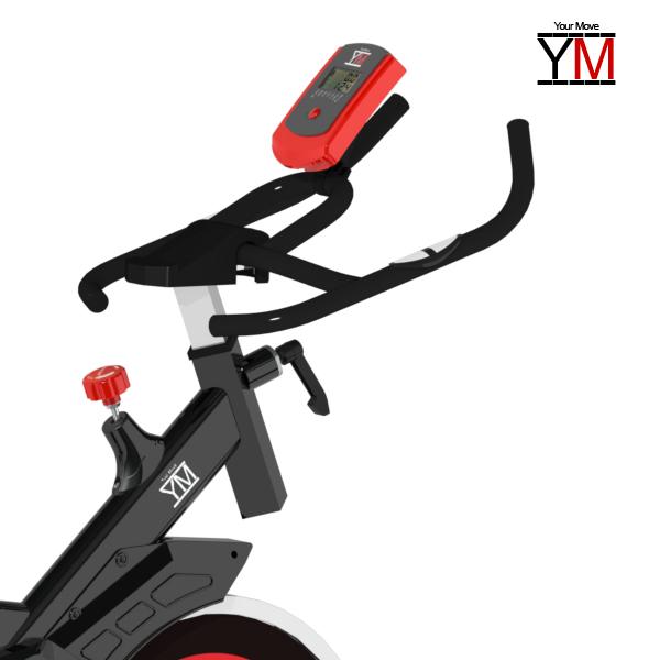 Bici da spinning bike your move cardio spinbike bicicletta for Layout della palestra di 2000 piedi quadrati